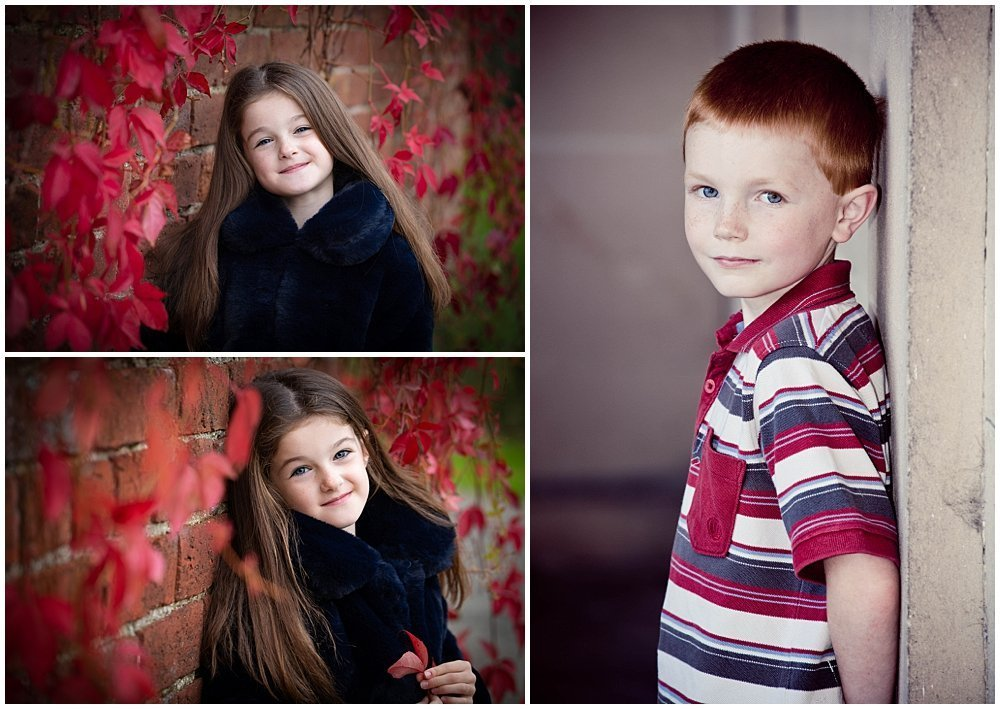 autumn family portraits