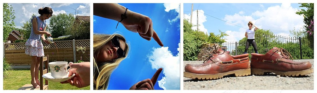 forced perspective photography challenge