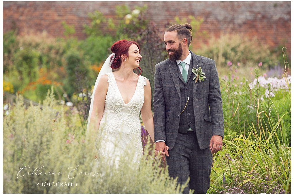 Shropshire wedding photographer at Delbury Hall