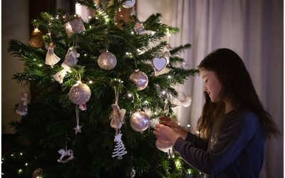 Top ten tips for photographing your children around the Christmas tree